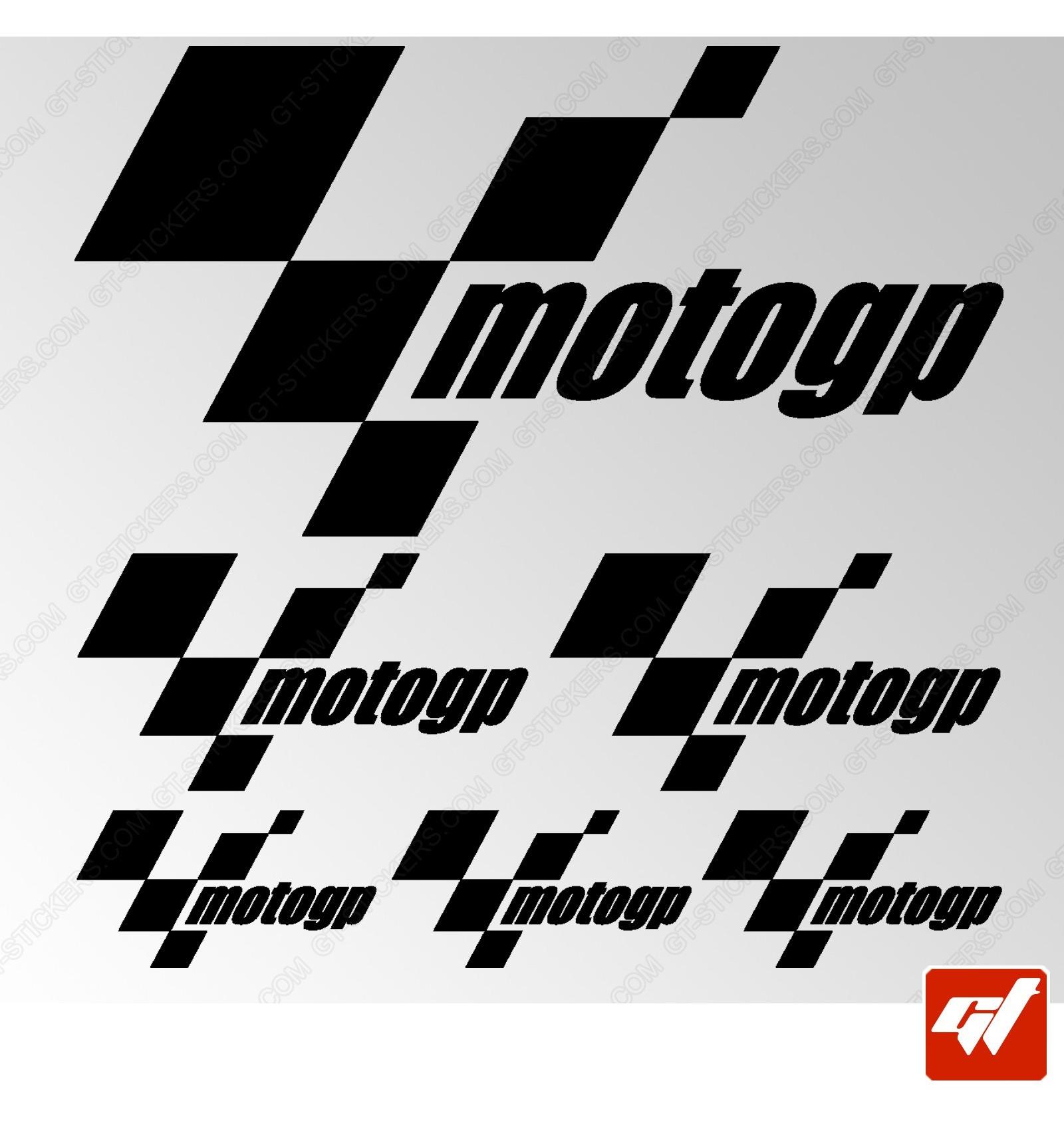 Planche De Stickers Moto Gp - Gamme 3M Pro / Oracal serapportantà Planche À Emboîtement 3M