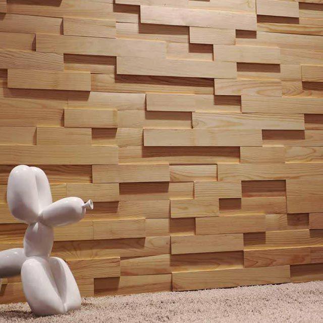 Plaquettes De Parement Bois Adhesives Castorama. Deco serapportantà Revetement Mural 3D Castorama