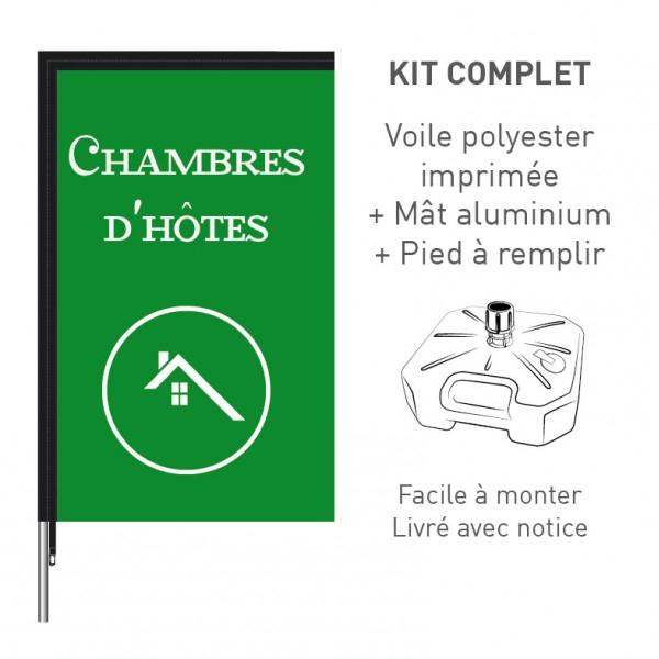 Plv Chambres D'Hôtes - Modèle 24 – Supports Publicitaires destiné Rentabilité Chambre D Hote