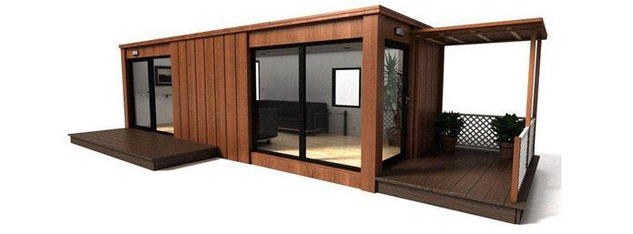 Pool House Moderne Contemporain | Plan Maison Contenaire pour Abri De Jardin Contemporain