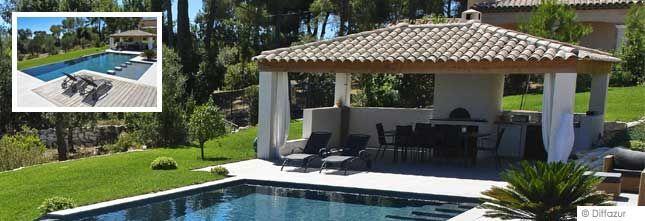 Pool House Piscine Avec Cuisine Et Salon | Pool House avec Idees Pool House Piscine