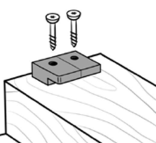 Pose Fixation Lame De Terrasse Invisible Fixego - Jouplast à Fixego