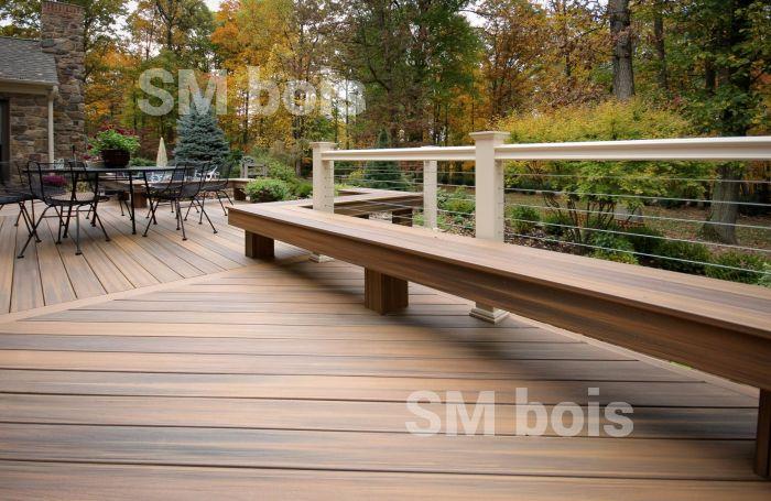 Pose Terrasse Composite Fiberon - Mailleraye.fr Jardin pour River Han Mobilier De Jardin