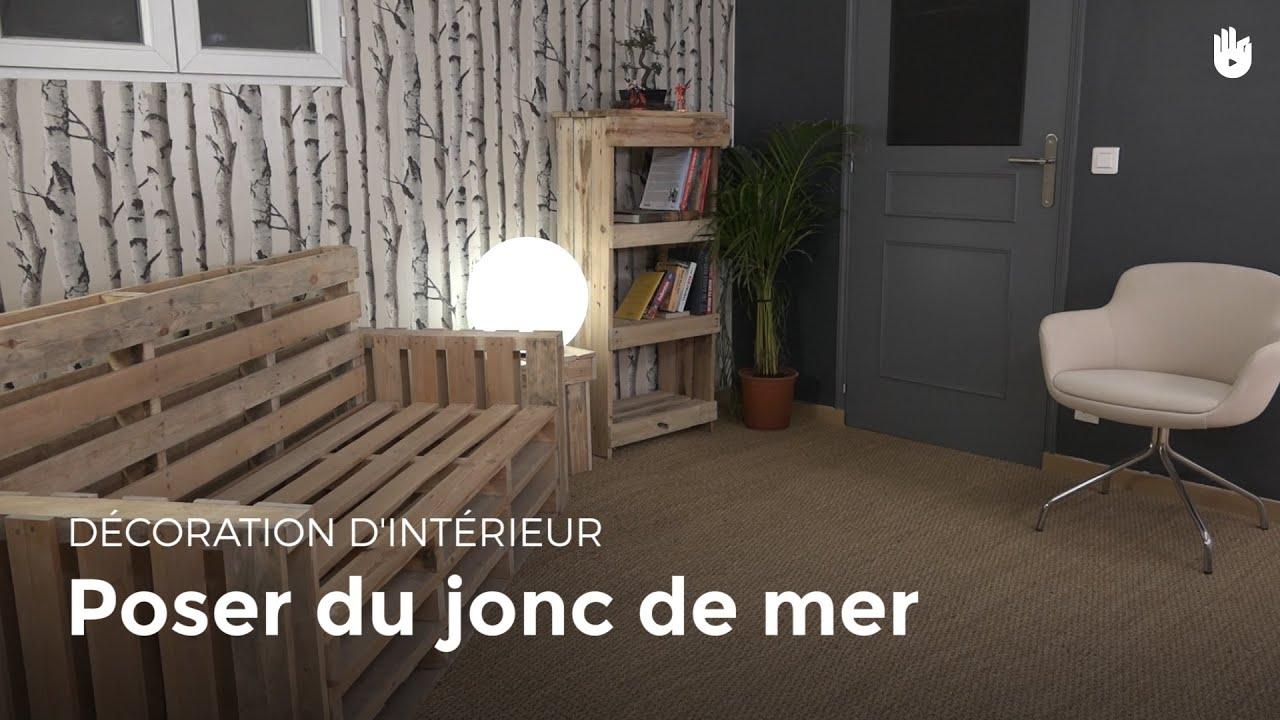 Poser Du Jonc De Mer  Bricolage concernant Jonc De Mer Salle De