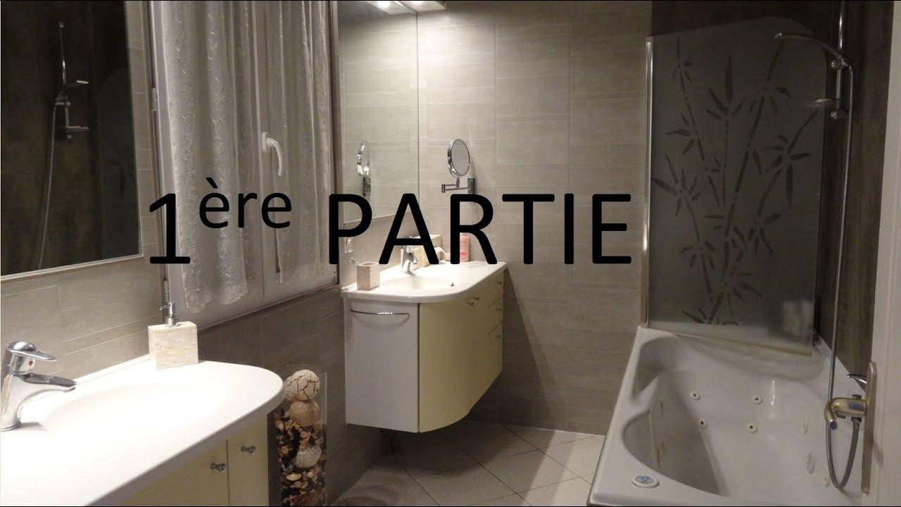 Poser Du Lambris Pvc Dans Une Salle De Bain Sans Colle (Ou Presque) Part1 intérieur Plaque Renovation Salle De Bain