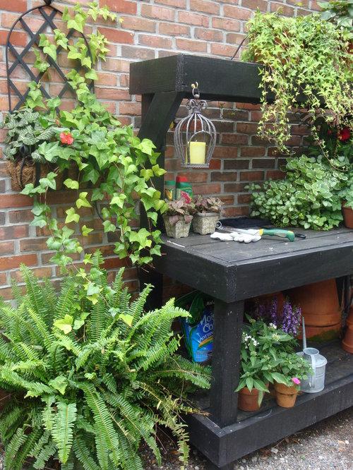 Potting Bench | Houzz avec Abri De Jardin Tampa