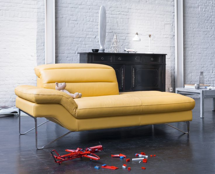Pour Accompagner Le Canapé #Audrey, Retrouvez La #Dormeuse avec Meuble Monnier