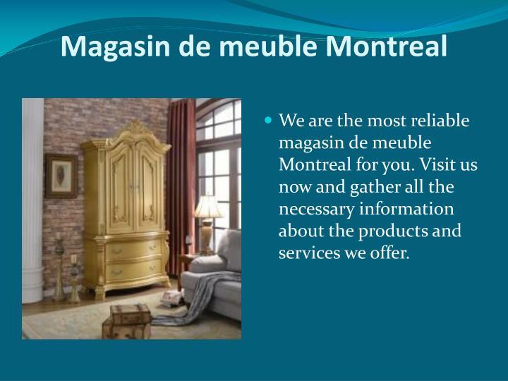 Ppt - Liquidation De Meubles Powerpoint Presentation - Id destiné Magasin De Meuble Barentin