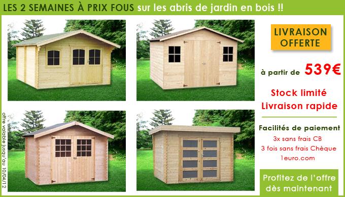 Promo Cabane De Jardin tout Abri De Jardin Discount
