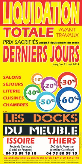 Prospectus Les Docks Du Meuble - Adrexo | Adrexo intérieur Dock Du Meuble