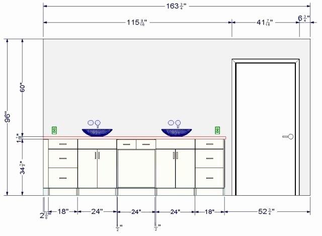 Quelle Hauteur Meuble Haut Salle De Bain - Veranda encequiconcerne Hauteur Standard Meuble Salle De Bain