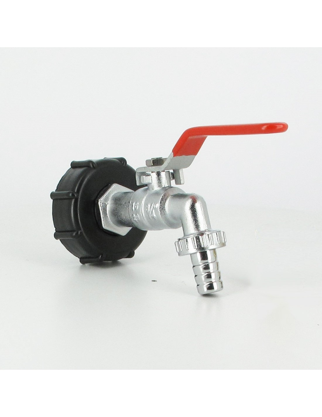 Raccord S60X6 Cuve Eau – Robinet Laiton Chromé 15 Mm encequiconcerne Robinet Pour Cuve 1000L