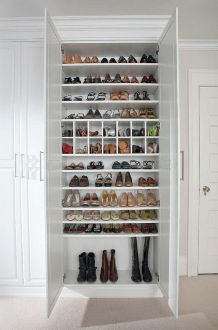 Rangement Chaussures : Idées Pour Armoire Et Dressing dedans Petit Meuble A Chaussure