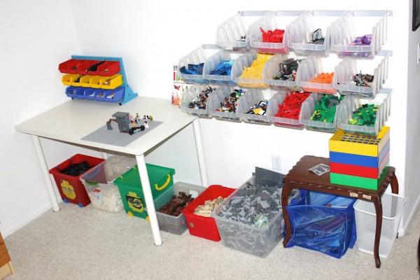Rangement Lego : Le Guide Ultime (+ 50 Idées Et Astuces) avec Meuble Lego