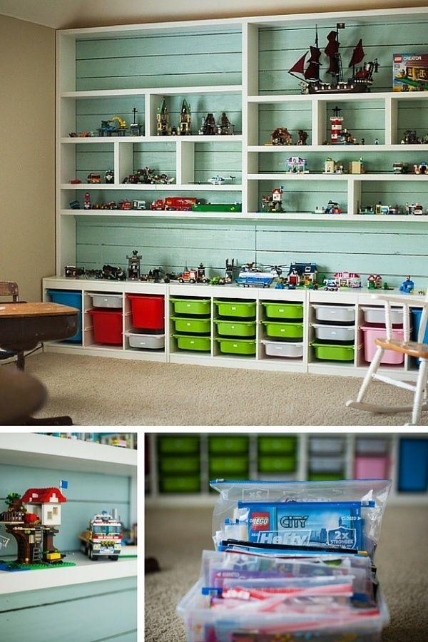 Rangement Lego : Le Guide Ultime (+ 50 Idées Et Astuces dedans Meuble Lego