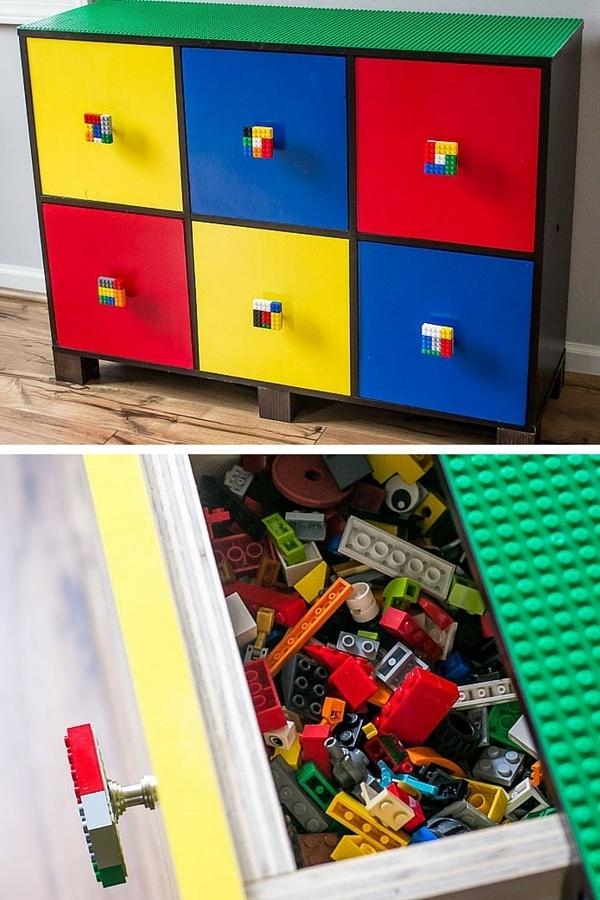 Rangement Lego : Le Guide Ultime (+ 50 Idées Et Astuces) serapportantà Meuble Lego