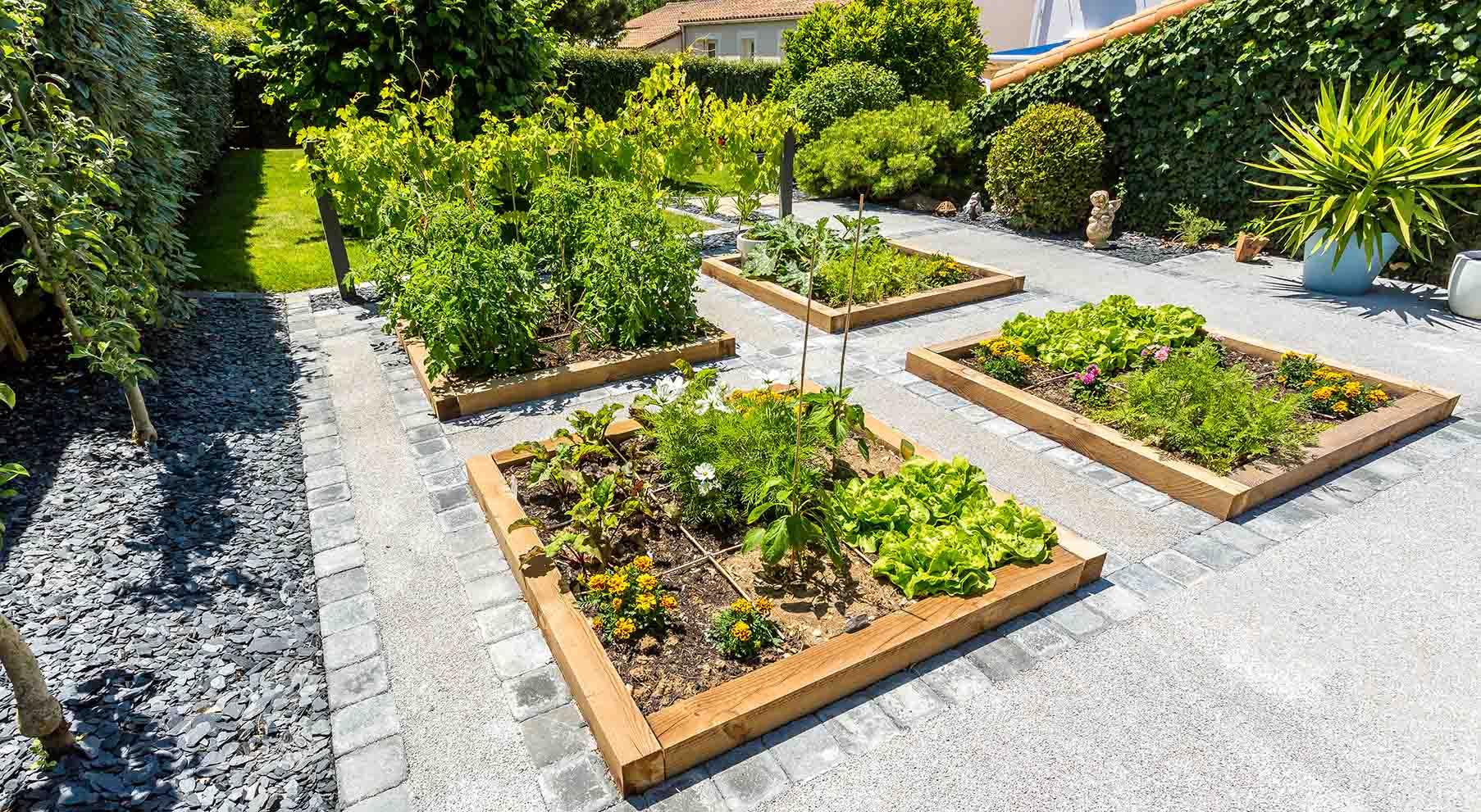 Réalisations De Jardin Et Aménagement D'Extérieur En pour Exemple D Aménagement De Jardin