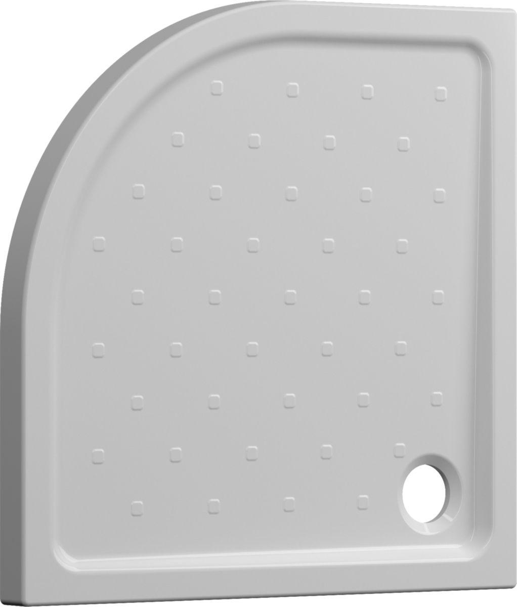 Receveur À Poser Seducta 2 Extraplat Angle 90 X 90 Blanc encequiconcerne Receveur De Douche Extra Plat 90X90