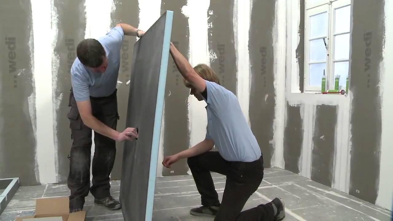 Rénover Sa Salle De Bains Par L'exemple - Solutions Wedi encequiconcerne Plaque Renovation Salle De Bain
