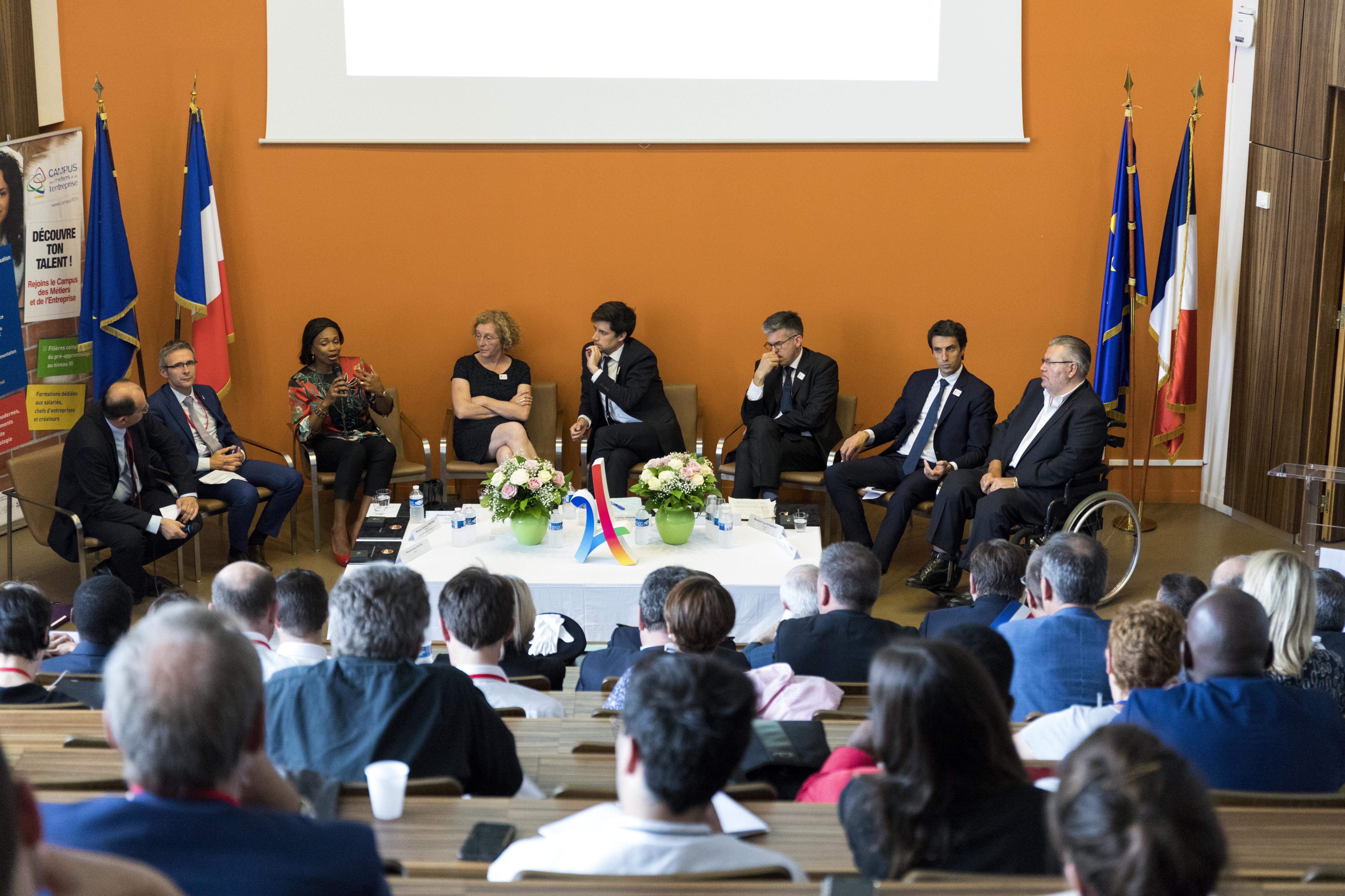 Reporistre-95 - Campus Des Métiers Et De L'entreprise tout Chambre Des Metiers Bobigny
