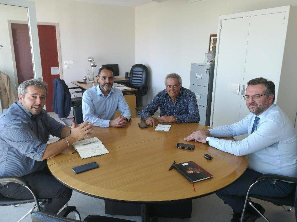 Réunion De Travail À La Chambre Des Métiers – Le Petit Journal intérieur Chambre Des Metiers Carcassonne