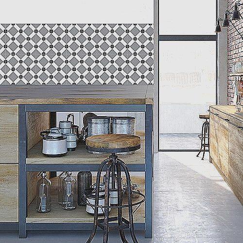 Revetement Mural Adhesif Pour Cuisine Carrelage Adhesif tout Revêtement Adhésif Pour Meuble Ikea