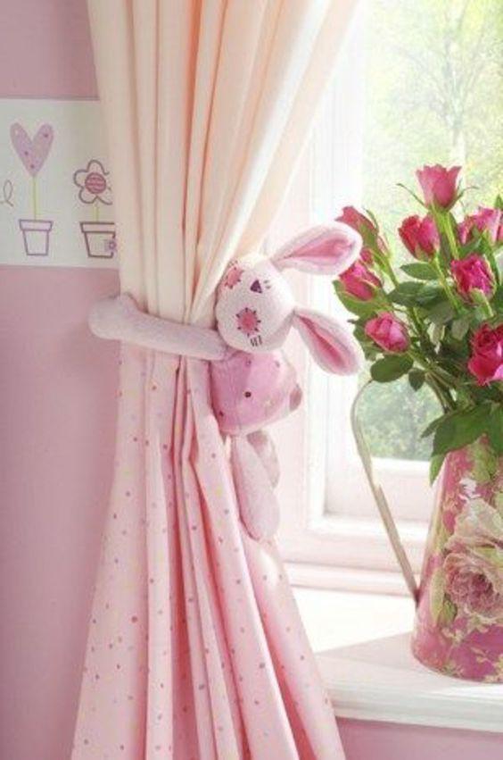 Rideaux Voilage Enfant Rose Pour La Chambre Bebe Fille serapportantà Voilage Chambre Fille