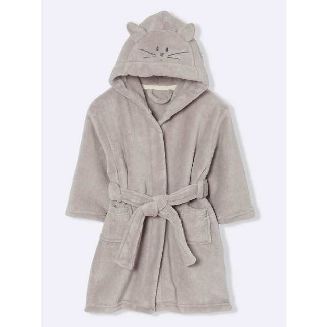 Robe De Chambre Enfant Polaire Chat Cyrillus | La Redoute intérieur Robe De Chambre Garçon 12 Ans