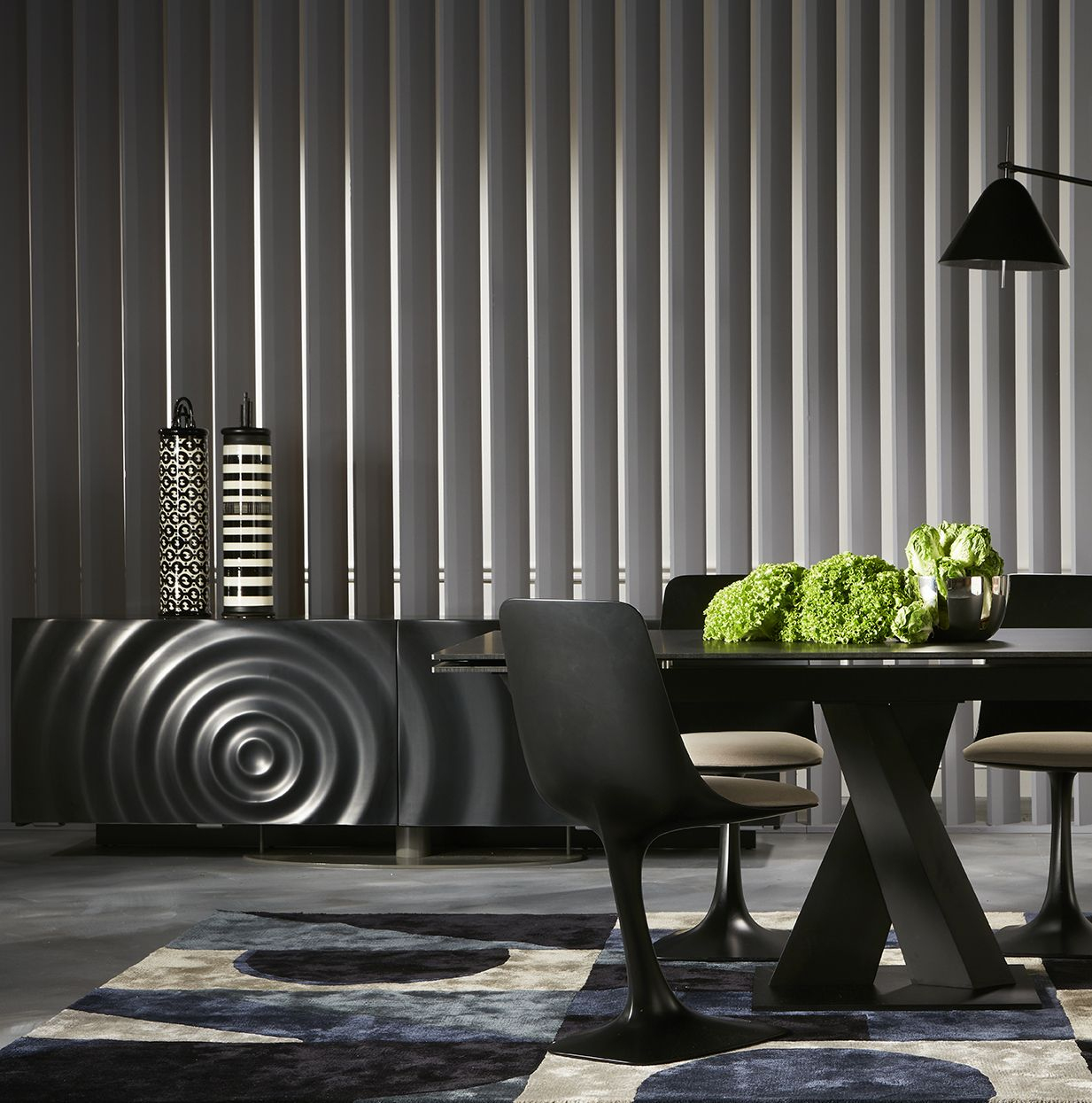 Roche Bobois   Axel Dining Table And Speed Up Sideboard dedans Table Salle À Manger Roche Bobois