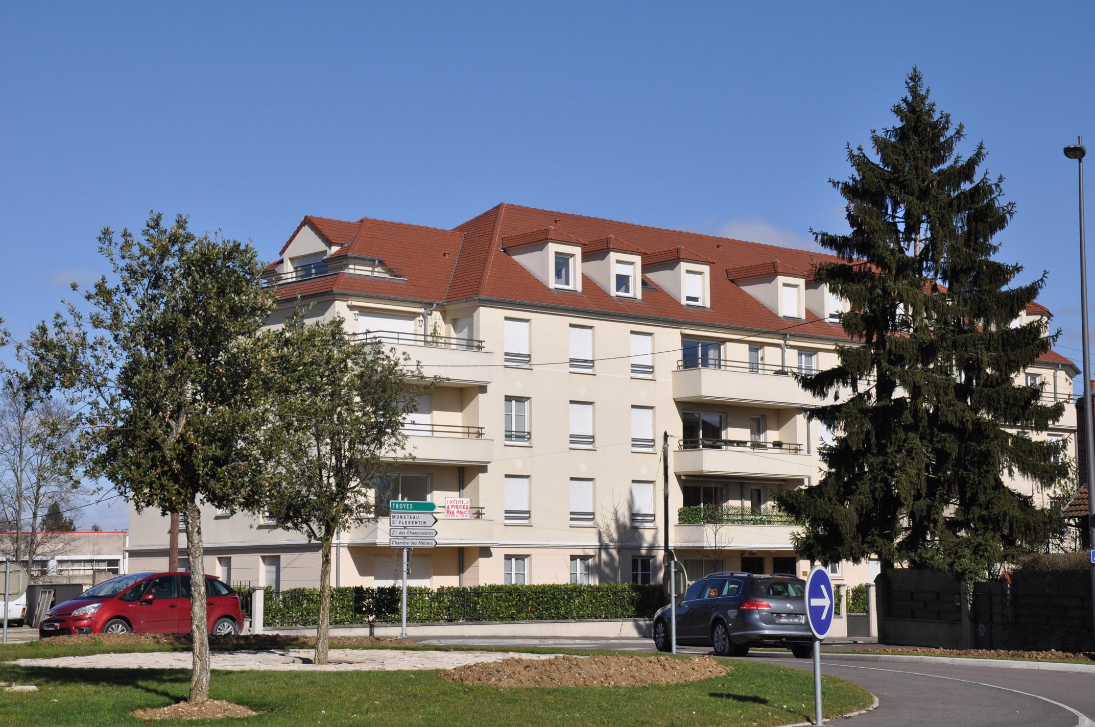 Saint-Gervais/brazza / Les Différents Quartiers / Auxerre avec Chambre Des Metiers Auxerre