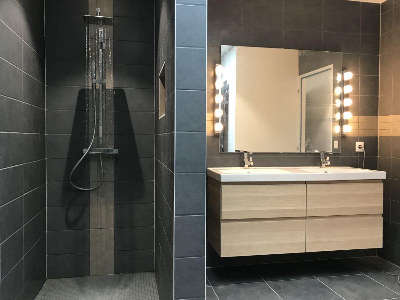 Salle De Bain, Carrelage Et Faïence Decoceram, Ameublement destiné Ikea Salle De Bains