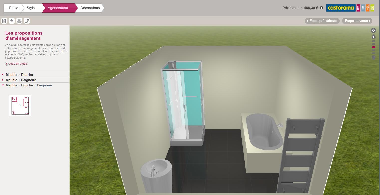 Salle De Bain En 3D : Les Logiciels En Ligne Et Leur destiné Créer Sa Salle De Bain