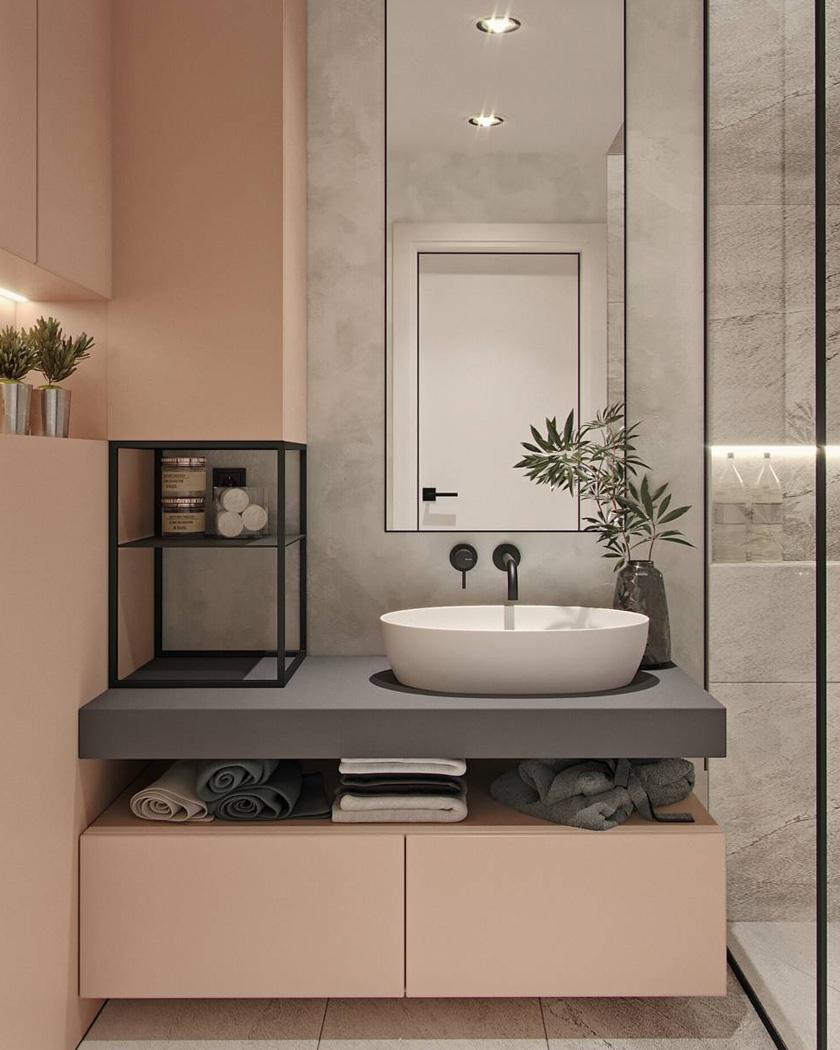 Salle De Bain Moderne : Idées Déco Et Inspiration | Shake My pour Accessoire Decoration Salle De Bain