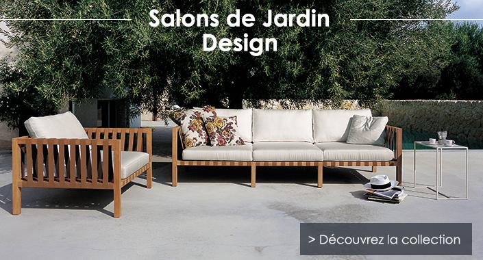 Salon De Jardin Design - Jardinchic destiné Salon Jardin
