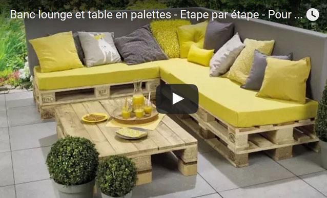 Salon De Jardin En Palette En U - Jardin Piscine Et Cabane dedans Coussin Pour Salon De Jardin En Palette