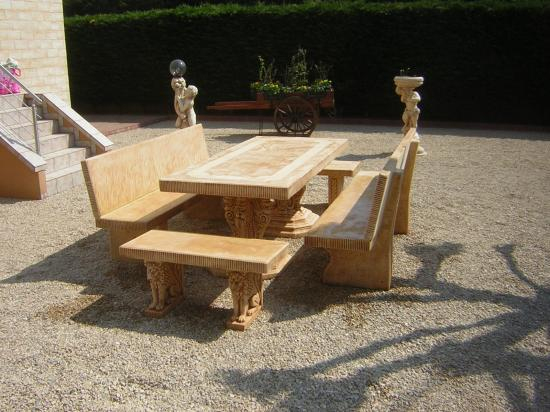 Salon De Jardin En Pierre Promofleur - Mailleraye.fr Jardin dedans Salon De Jardin En Pierre