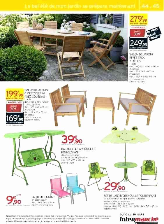 Salon De Jardin Intermarche Beau Catalogue Intermarch destiné Intermarché Table De Jardin