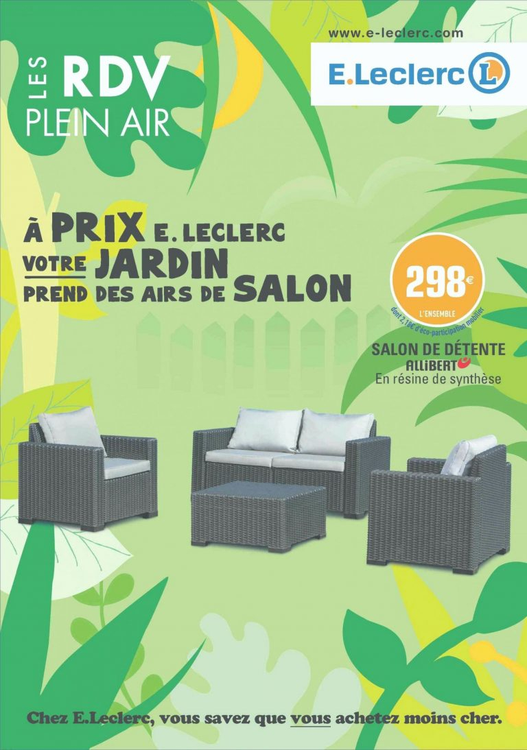 Salon De Jardin Leclerc Catalogue - Canalcncarauca encequiconcerne Salon De Jardin Leclerc