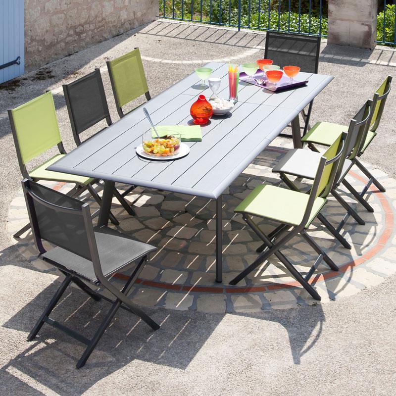 Salon De Jardin Pliant 6 Personnes - Jardin Piscine Et Cabane dedans Salon De Jardin Pliant