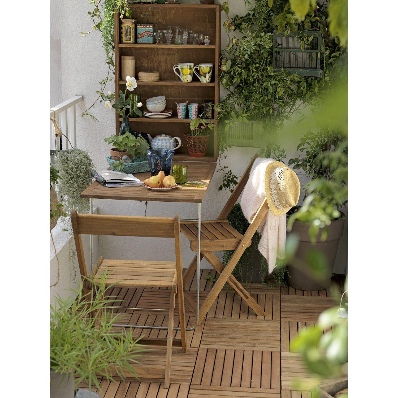 Salon De Jardin Porto Naterial, 1 Armoire Murale / Table destiné Armoire De Jardin Leroy Merlin