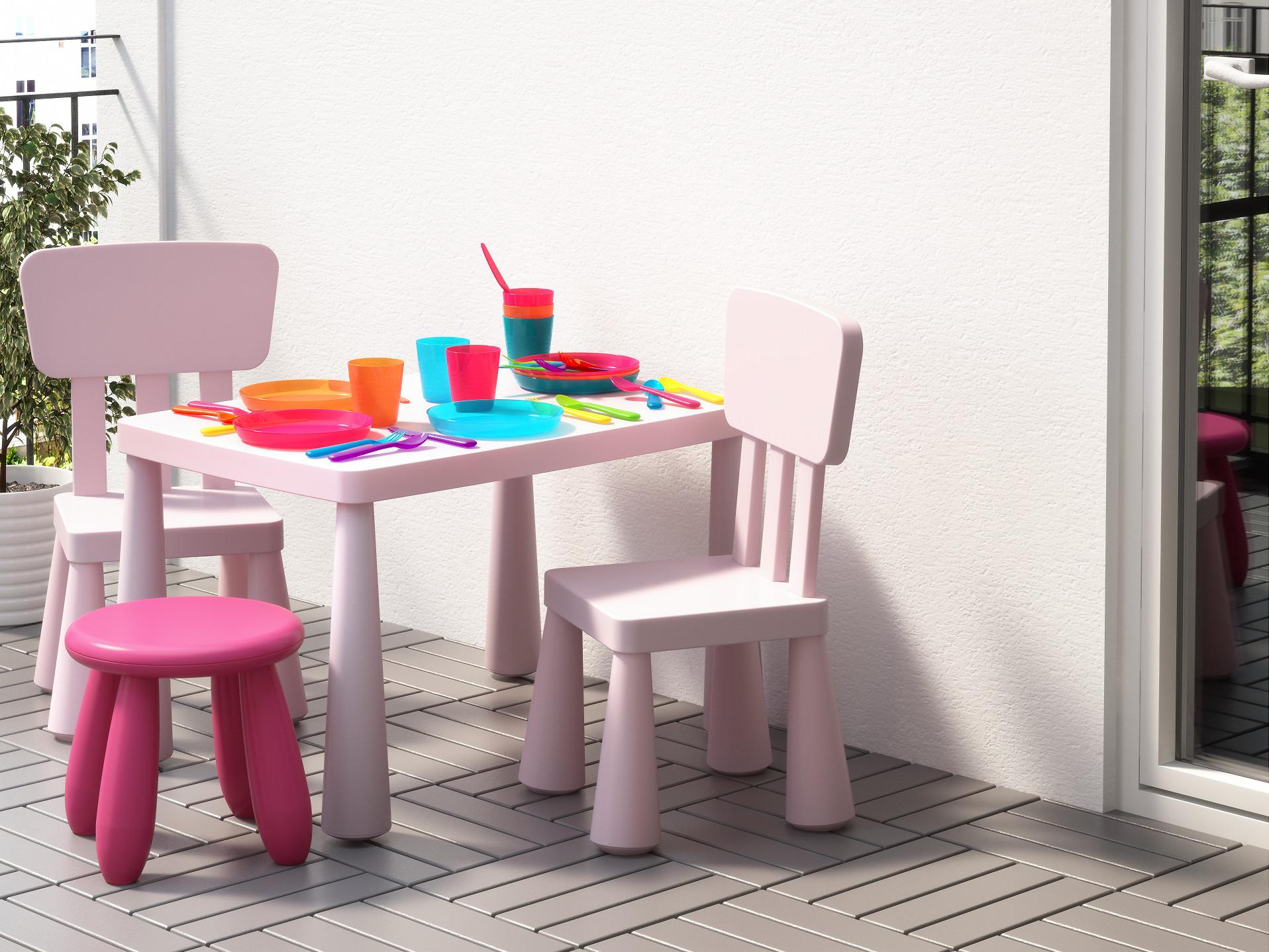 Salon De Jardin Pour Enfants : Du Mobilier Comme Les destiné Mobilier De Jardin Ikea