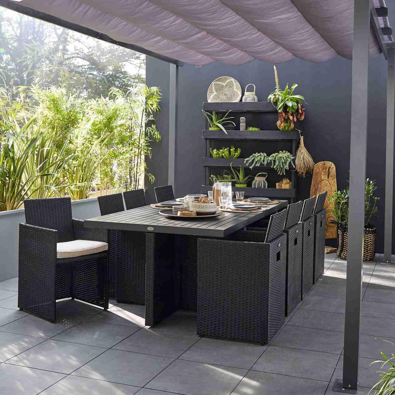 Salon De Jardin Resine Tressee Leroy Merlin - Mailleraye avec Salon De Jardin Solde Leroy Merlin