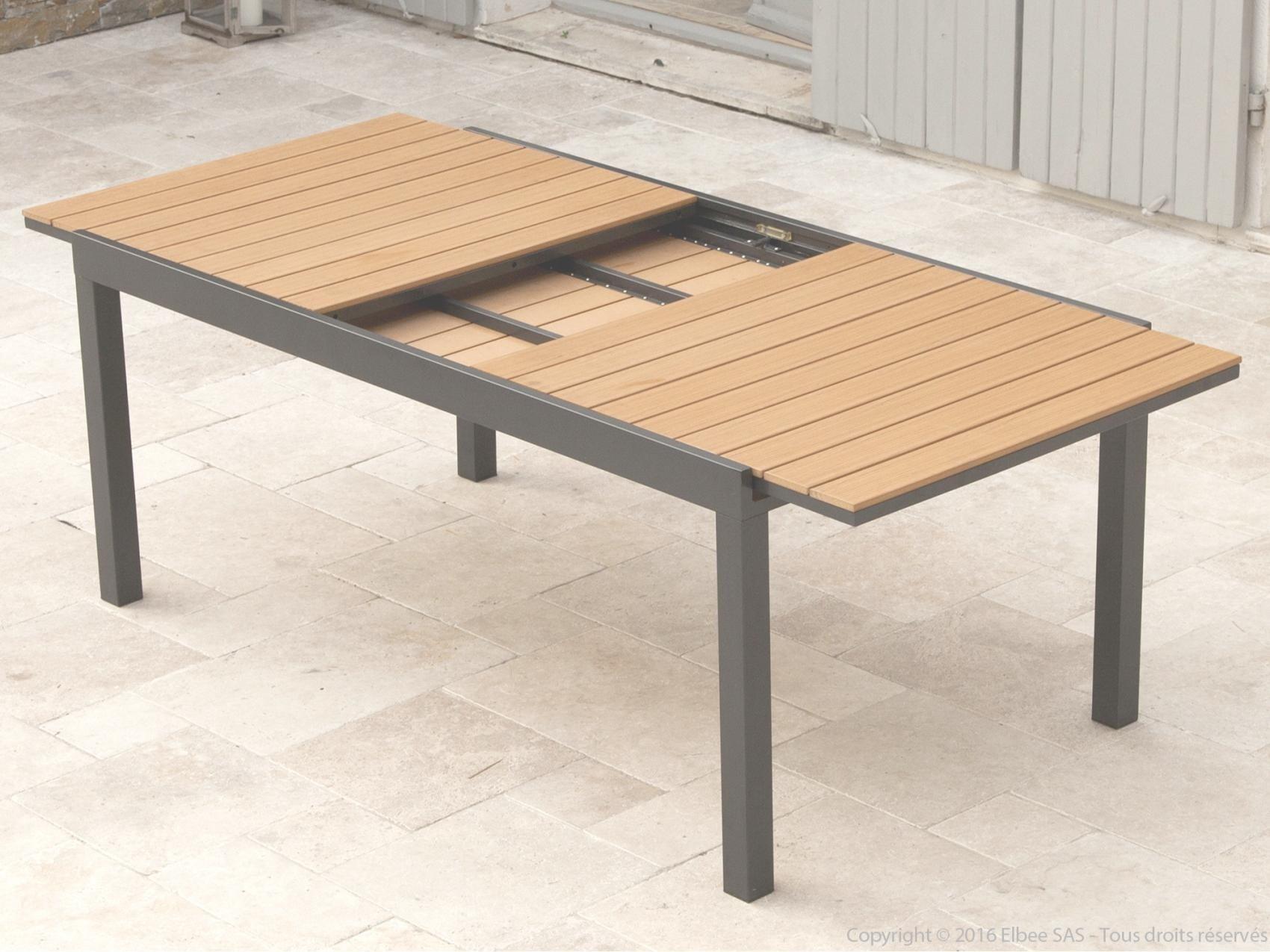 Salon De Jardin Table Extensible Pas Cher - Mailleraye.fr destiné Salon De Jardin Aluminium Pas Cher