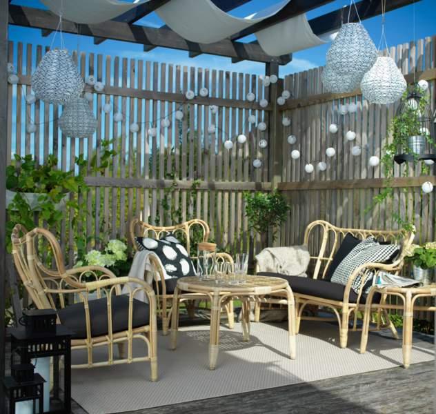 Salon De Jardin, Toutes Les Nouveautés - Femme Actuelle dedans Salon De Jardin Ikea