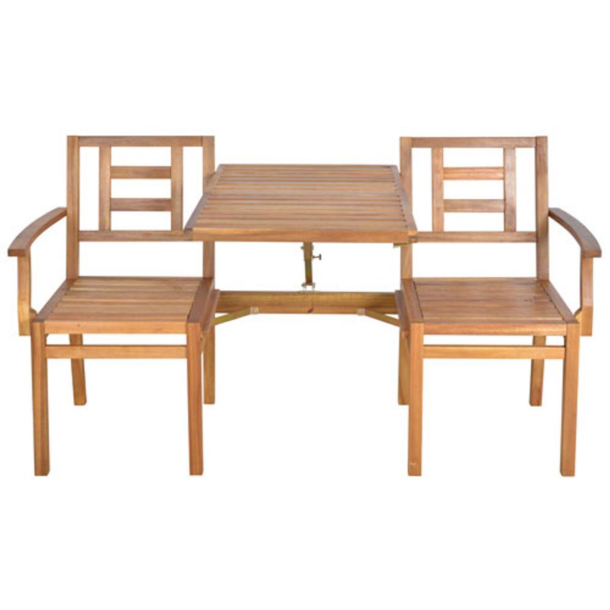 Salon De Jardin Transformable 2 En 1 Table Et Banc En pour Salon De Jardin Pliant