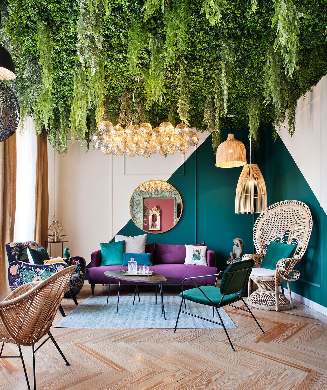 """Salón """"Respira Inspiración"""" Por Maisons Du Monde Para Casa encequiconcerne Salon De Jardin Maison Du Monde"""