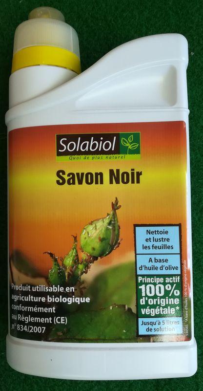 Savon Noir - Solabiol 1L - Lutte Biologique Et Protection tout Savon Noir Jardin