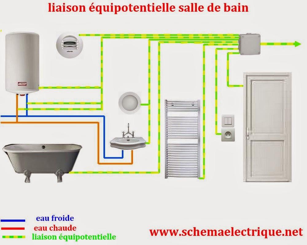 Schema Electrique Branchement Cablage intérieur Norme Électrique Salle De Bain