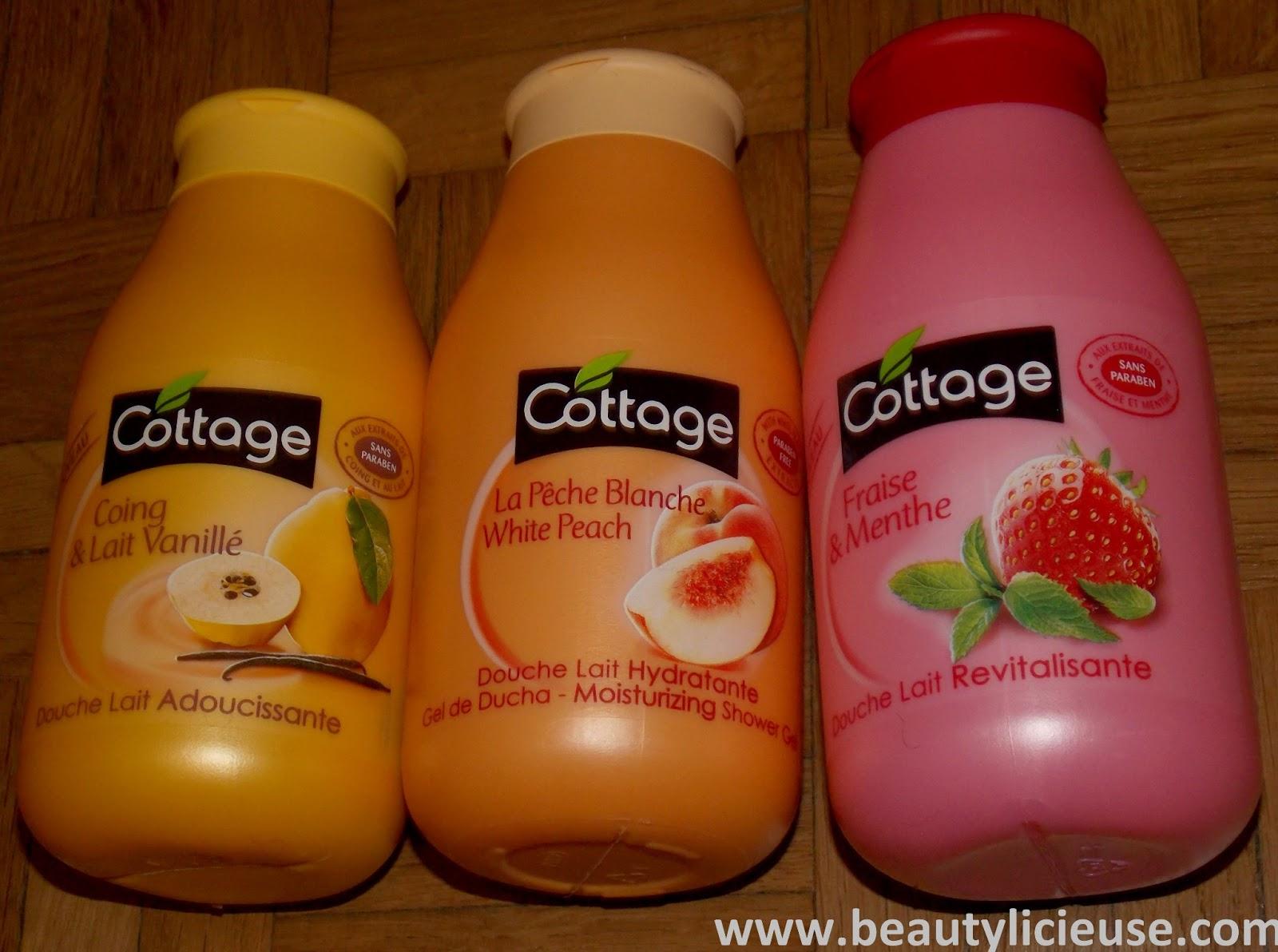 Serais-Je Devenue Cottage Addict ?? - Beautylicieuse intérieur Gel Douche Cottage Prix