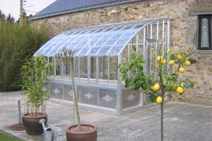 Serre Adossée Chambord - Jardin Couvert encequiconcerne Serre De Jardin Adossée